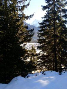 Blick nach Vorderhornbach Baichlsteinrunde.
