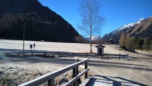 warme Raureife Wanderzone im Lechtal