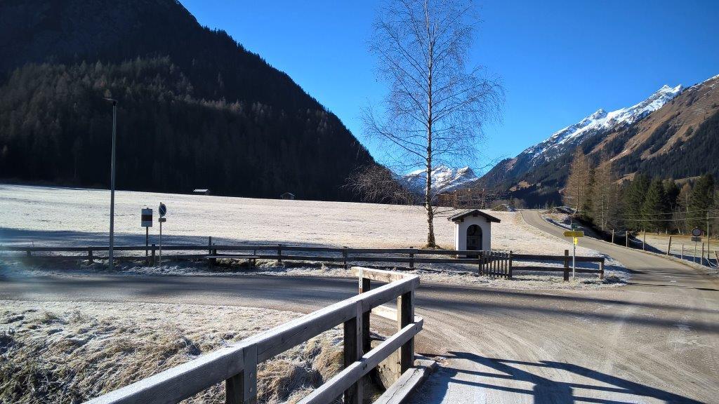 Warme Wanderzone im Lechtal