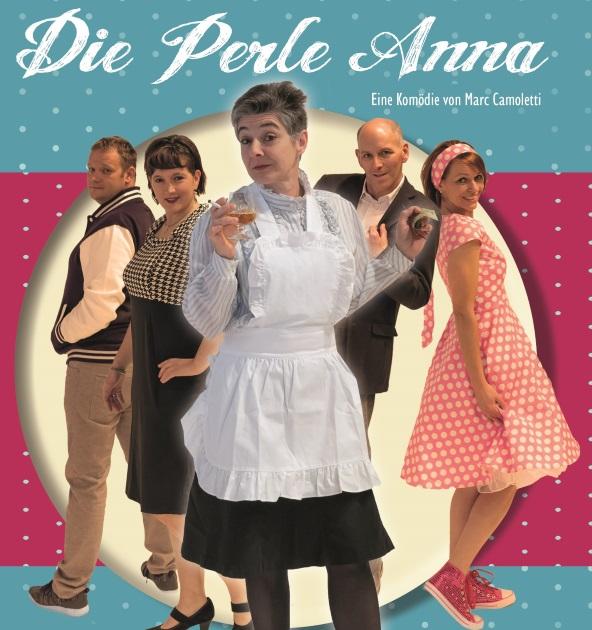 """Fleyer Die """"Perle"""" Anna Theaterbühne Holzgau"""