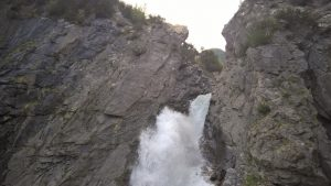 Tosender Simmswasserfall in Holzgau.