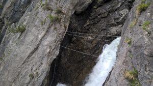 Seilbrücke Simmswasserfall.