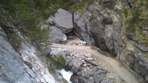 Aussicht Gamsrunde zur Bärenhöhle.