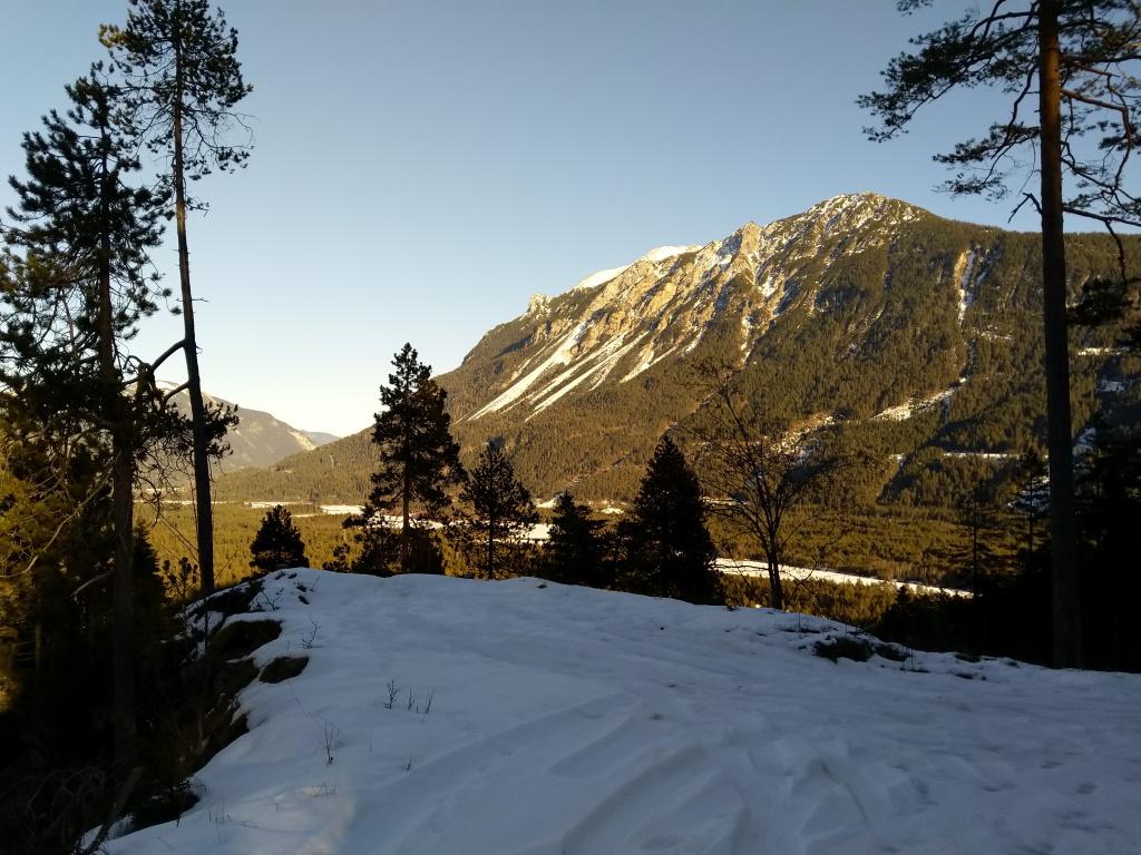 Rückweg Baichlstein-Stanzach, Lechzopf nach Forchach.