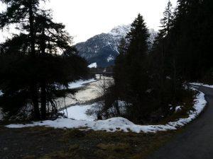 Vorderhornbachbrücke bei Stanzach