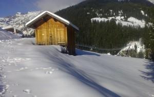 Schneeschuhwandern in Holzgau mit Hängebrückenrunde
