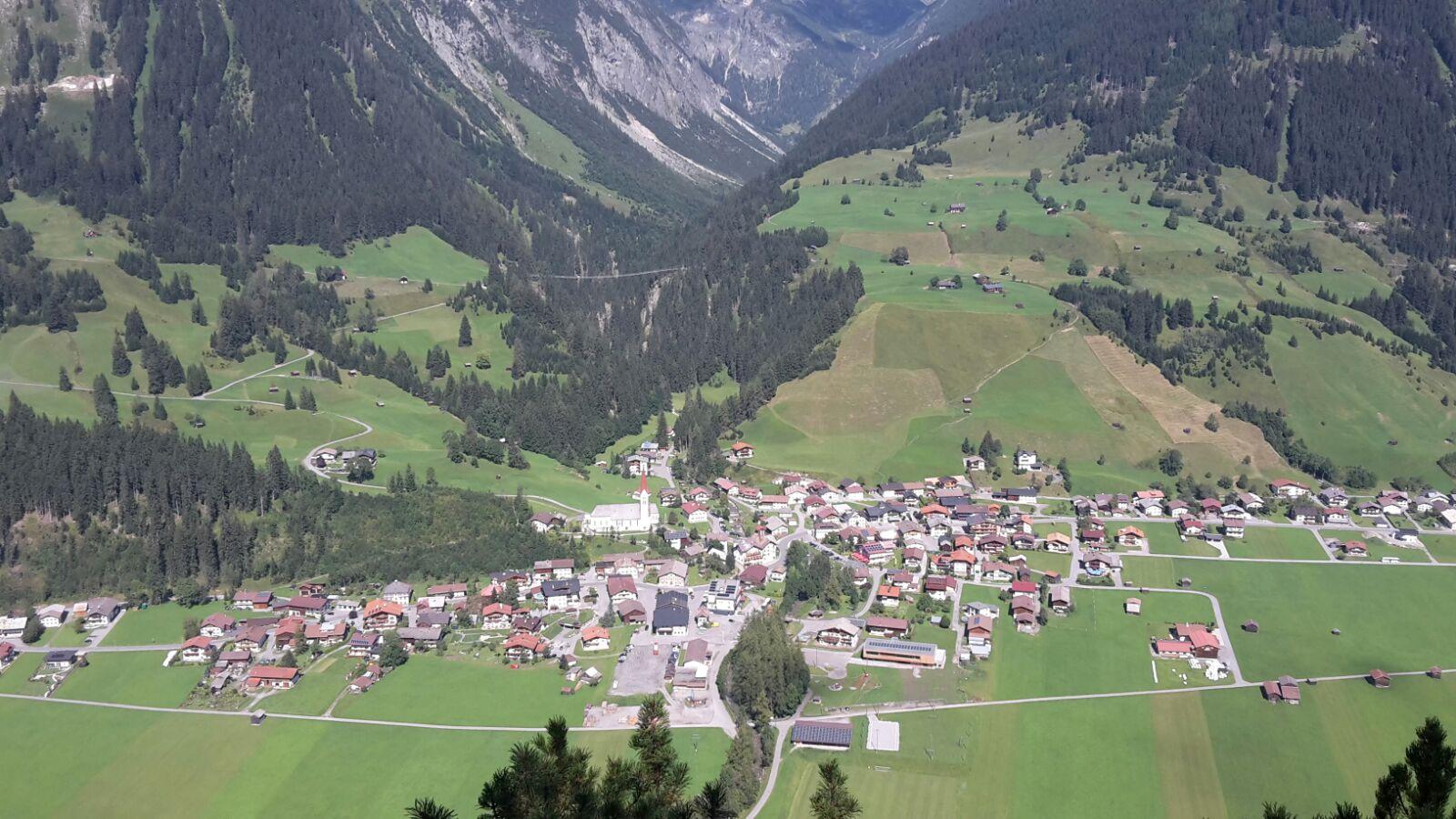 Ort Holzgau im Lechtal