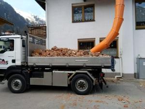 Umbauarbeiten Pension Dorfstube Holzgau