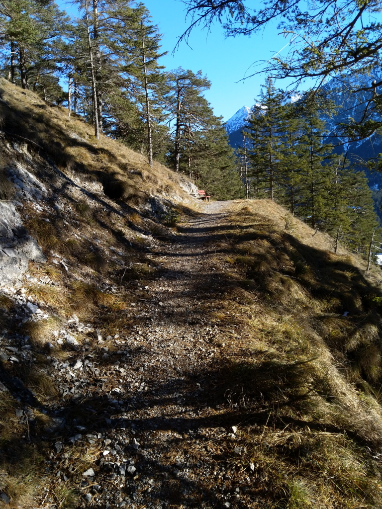 Panoramabank Baichlstein-Höhenweg