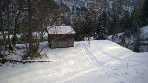 Kinder-Ski-Schanze am Gföllberglift.