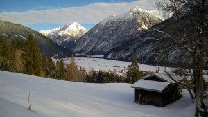 Schneeschuhwanderroute Holzgau