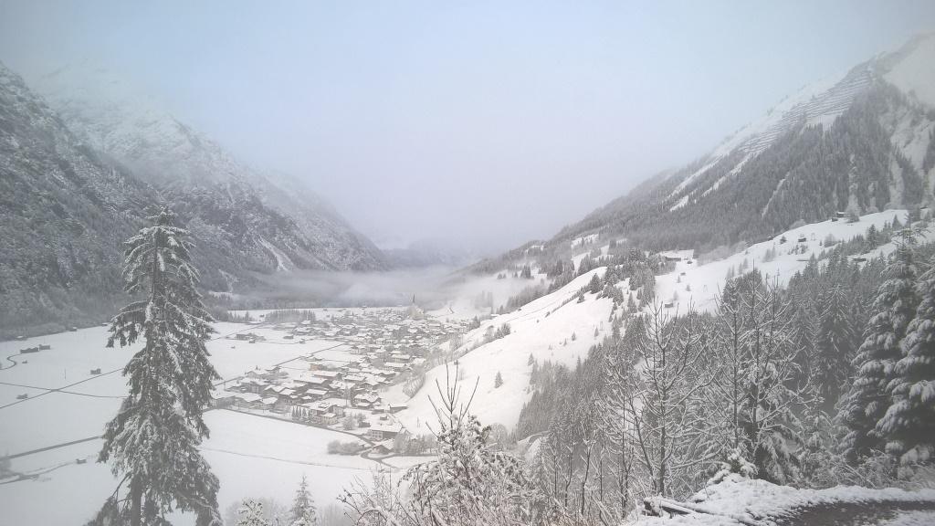 Vorwinterzeit im Lechtal bei Holzgau