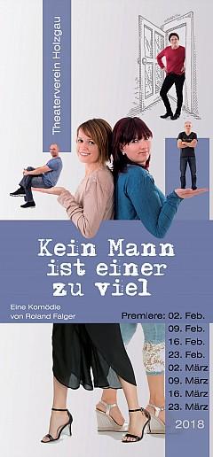 Übersicht Spieltermine 2018 Theaterverein Holzgau