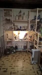Allerhand zu entdecken im Kreativladen in Holzgau.