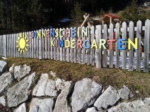 Sonnenscheinkindergarten Vorderhornbach.