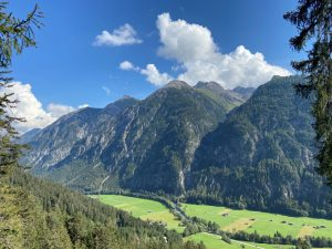 Sommer-wandern im Lechtal.