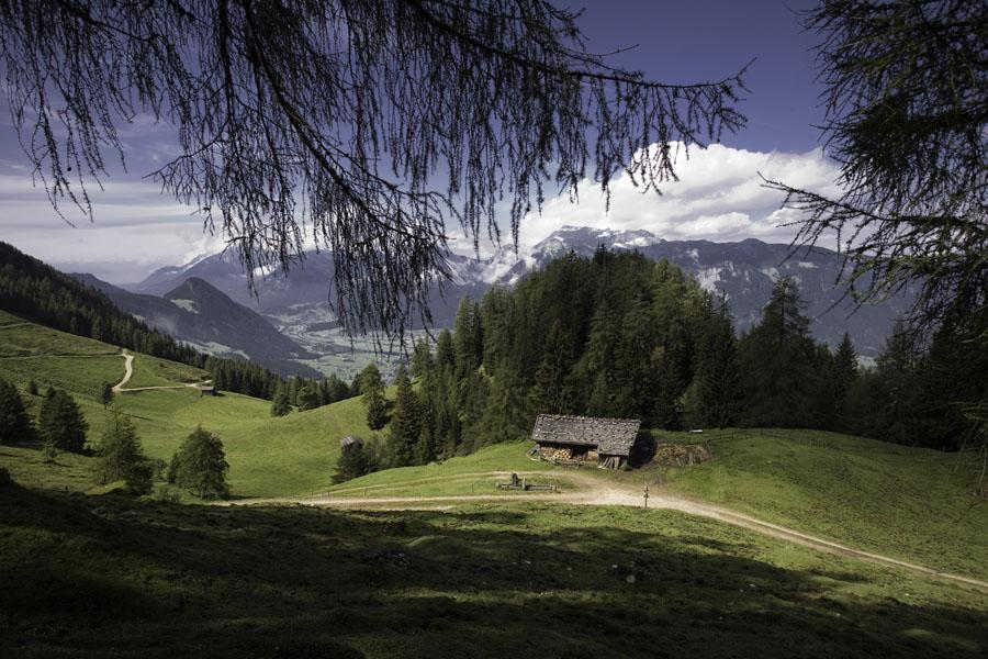 Lechweg Wanderwegausblick
